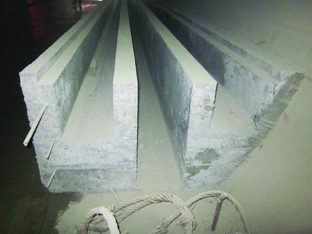 铁路水沟电缆沟效果图